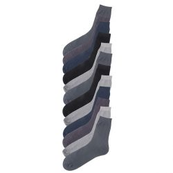 Pack of 12 Multicolour Cotton Professional Socks for Men