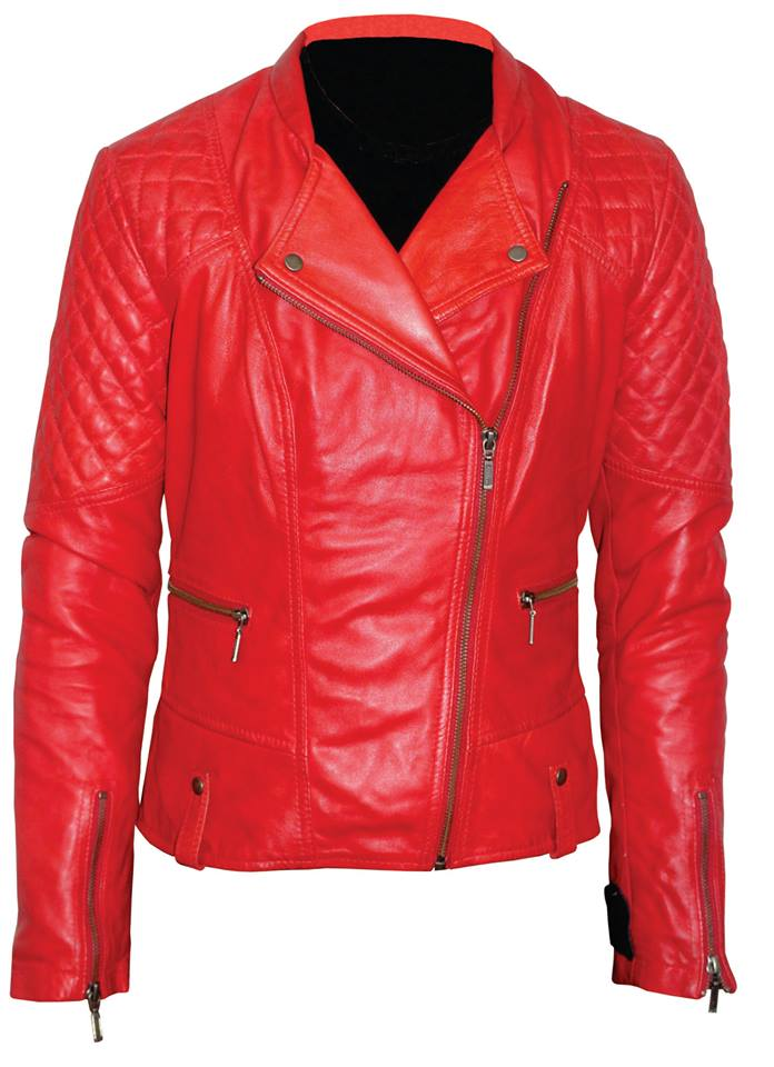 4d6e9a35fa922 Mega Brands Ladies Leather Jacket -79 : Buy Online At Best Prices In ...