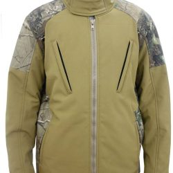 Mega Brands Mens Hunting Soft shell Camo Jacket
