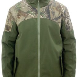 Mega Brands Mens Hunting Soft shell Green Camo Jacket