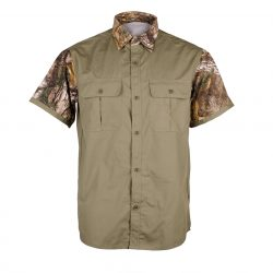 Mega Brands Mens Short Sleeve Hunting Shirt A