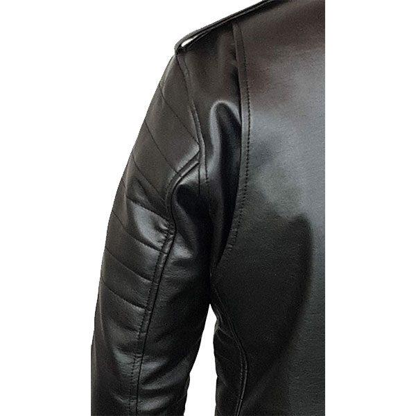 Mens Slim Fit Leather Jacket AMB2 G