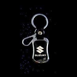 Metal Keychain Suzuki