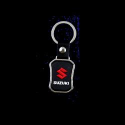 Rubber keychain Suzuki