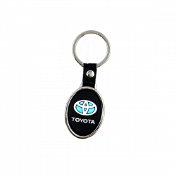 Rubber keychain Toyota