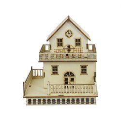 Wood Craft Lightening House A