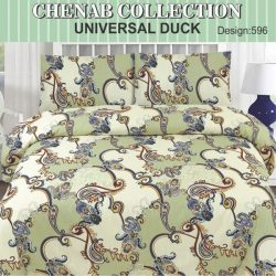 Chenab Bed Sheet 596