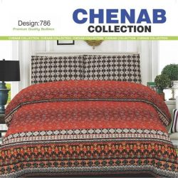 Chenab Bed Sheet 786