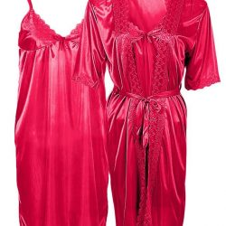 Shocking Pink Night Gown for Women