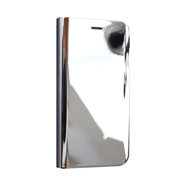 Clear View Standing Silver Cover For iPhone 7 B