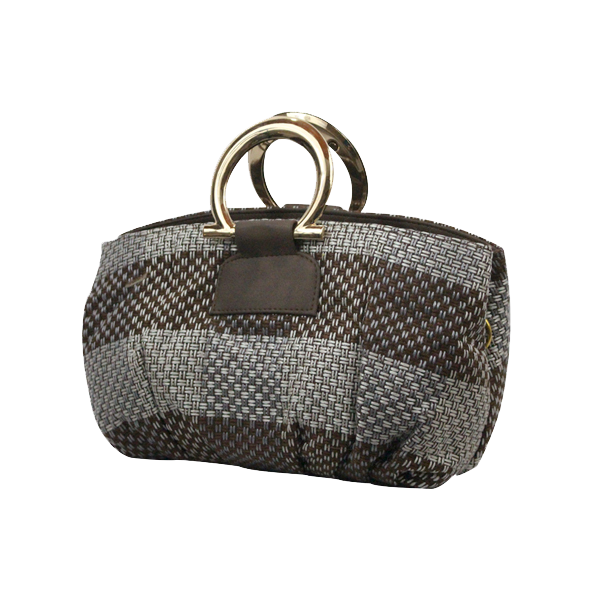 Clutch Style Ladies Soft Bag Brown Shade