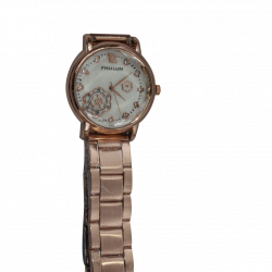 Fhulun Ladies Watch Golden 01