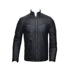 Men Slim Fit PU Leather Art 2 A