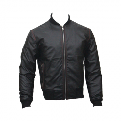 Men Slim Fit PU Leather Jacket B2 6