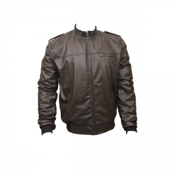 Men Slim Fit PU Leather Jacket B666 2 1