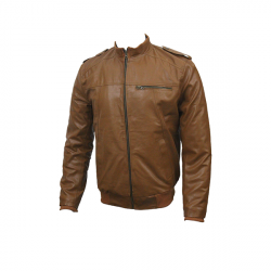 Men Slim Fit PU Leather Jacket B666 6 1