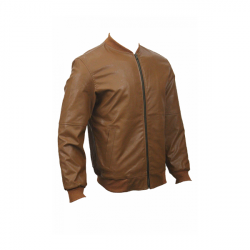 Men Slim Fit PU Leather Jacket BOOMBER 1 1
