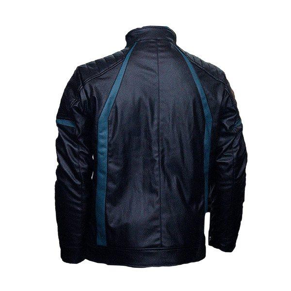 Men Slim Fit PU Leather m 14 c