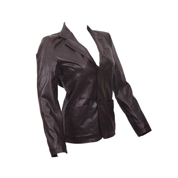 PU Leather Coats For Women HB004 2 B