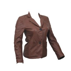 PU Leather Coats For Women HB004 A