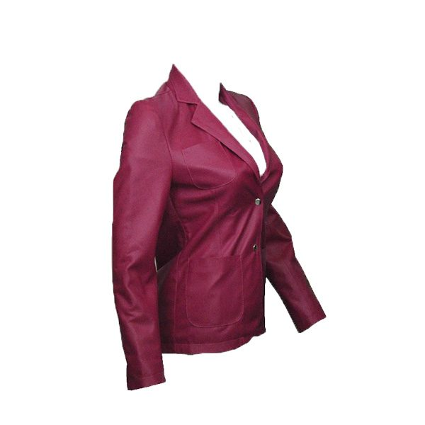PU Leather Coats For Women LCM2