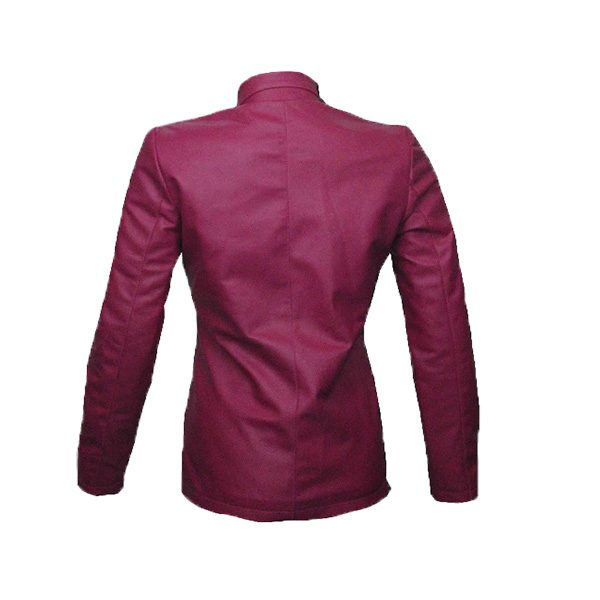 PU Leather Coats For Women LCM3