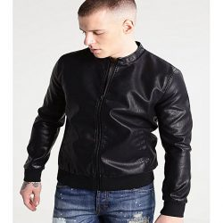 PU Leather Jacket For Men M5 1