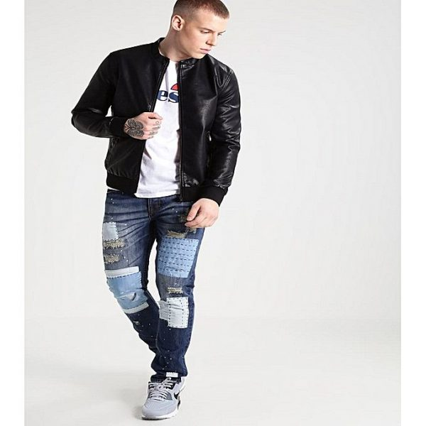 PU Leather Jacket For Men M5 3