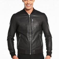 PU Leather Jacket For Men M51
