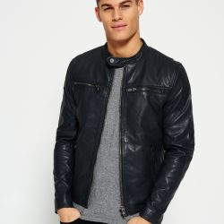 PU Leather Jacket For Men M8