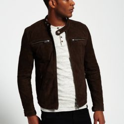 PU Leather Jacket For Men M9