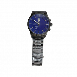 Quartz Men Watch Blue Dial