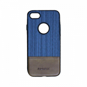 Self Lining Remax Cover iPhone 7 Blue