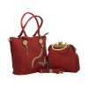 Two Piece Fancy Ladies Bag Red