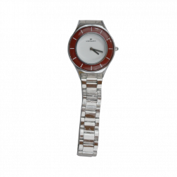 Xenlex Water Proof White Dial Ladies Watch GOL03