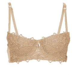 Skin Nylon & Lace Iconic Essence Half Padded Bra