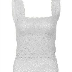 White Stretchable Imported Lace Bra – Fashion 2001-S