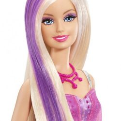 Barbie Color Me Glam Doll A