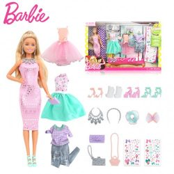 Barbie Fashion Activity Gifset with Clothes