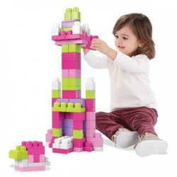 First Builders Big Building Bag Pink A