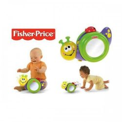 Fisher Price Go Baby Go 1 2 3 Crawl Along Snail Toy A