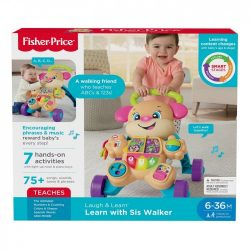 Fisher Price Laugh and Learn Smart Stages Learn With Sis Walker A