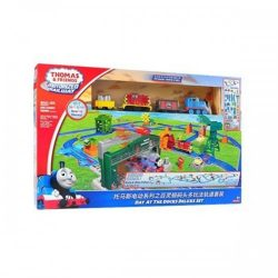 Fisher Price Motorized Railway Day at the Docks Deluxe Set A