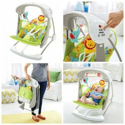 Fisher Price Rainforest Friends Take Along Swing Seat A