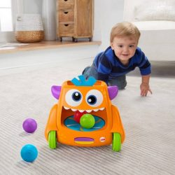 Fisher Price Zoom Crawl Monster Toy A