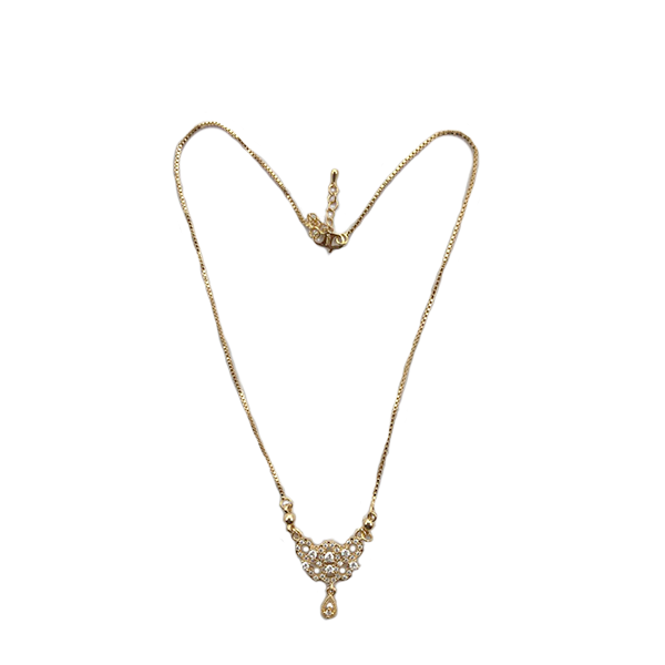Gold Plated Modern Celebrity Style Locket Chain B