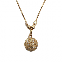 Gold plated Pendant Necklace A