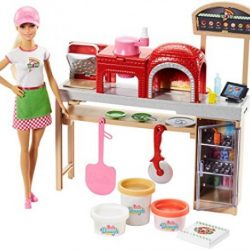 Mattel Barbie PizzaMaking Game Set A