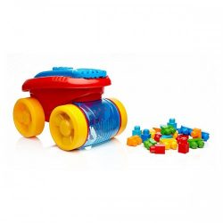 Mega Bloks Block Scooping Wagon Building Set A