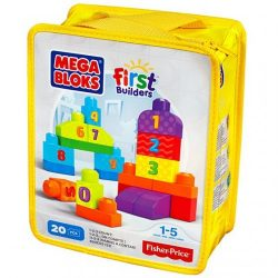 Mega Bloks First Builders 1 2 3 Count Play set A